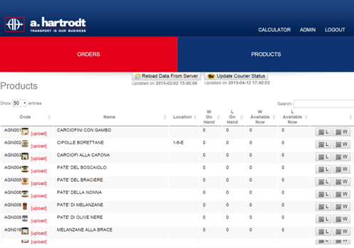 a.Hartrodt Warehouse Management System