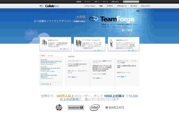 Collabnet Website
