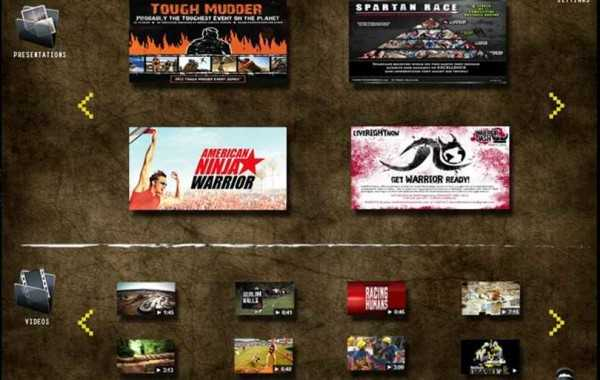 Warrior Dash Japan – iPad Web App