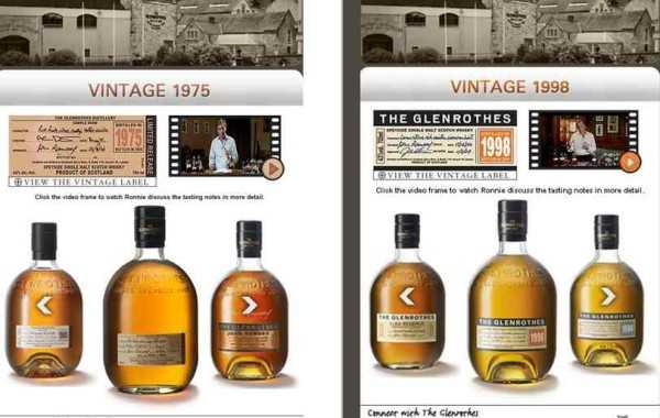 Glenrothes Whisky – Mobile site