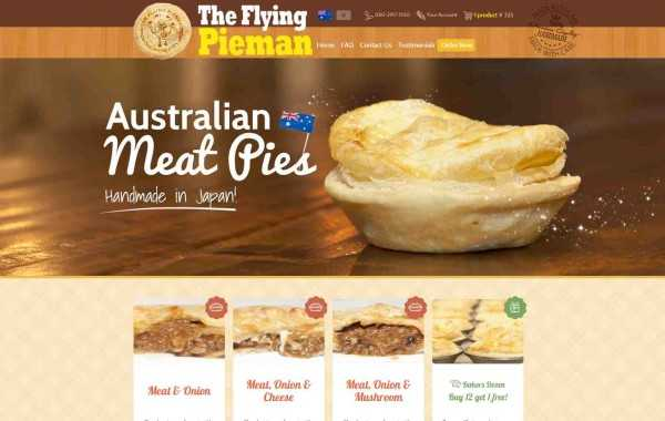 The Flying Pieman – Website