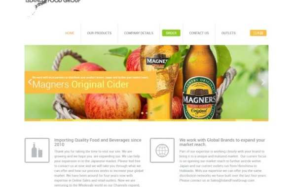 Island Food Group Corporate Identity – Website
