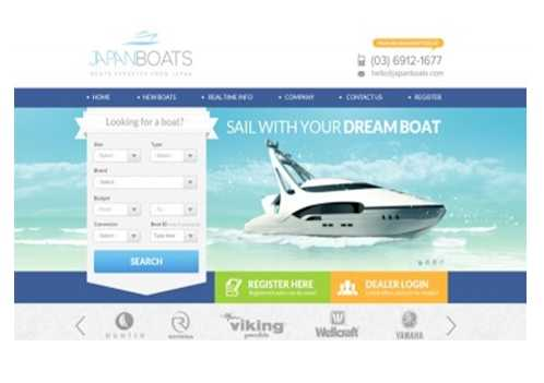 Boat Sales Web